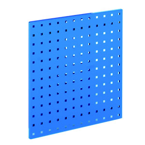 Perforated wall hanging tool panel system