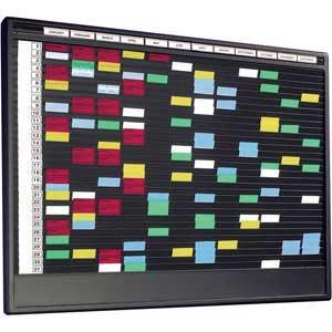 Job Card Racks / A4 Document Storage Wall Rack Systems - ESE Direct