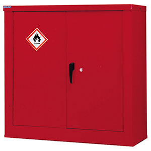 Red Petroleum & Flammable Liquid Storage Cupboards