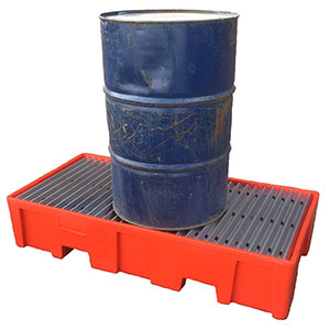 Plastic Drum Spillage Bunds