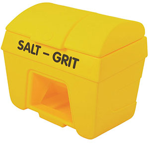 Plastic Grit Bins with Hopper Feed