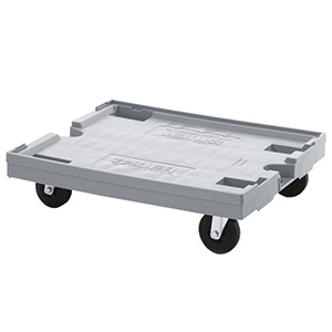 800 x 600mm Platform Plastic Dolly with FREE UK Delivery