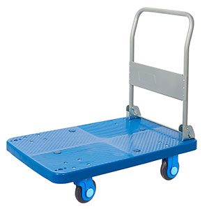 Polypropylene Platform Trolley with Silent Castors