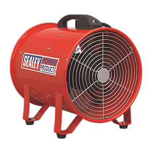300mm Portable Ventilator with 5 meter Ducting with FREE UK Delivery