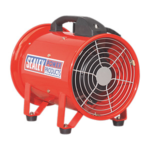 200mm Portable Ventilator with 5 meter Ducting with FREE UK Delivery