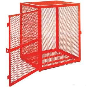 Enclosed Powder Coated Security Cage