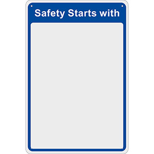 PPE Safety Check Mirrors with 3 Designs, in 2 Sizes