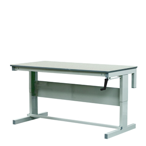 Adjustable height Workbench, Laminate Top