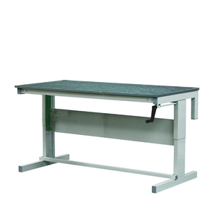 Adjustable height Workbench, Vinyl Top