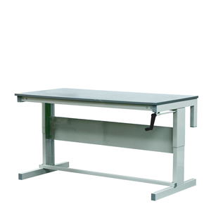 Premier Height Adjustable Workbenches with MFC Top