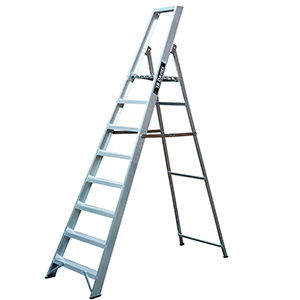 Professional Platform Step Ladders 3 to 12 Tread Options with FREE UK Delivery