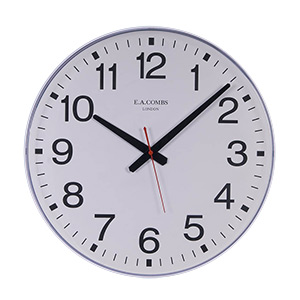 Quartz Movement Plastic Case Wall Clock
