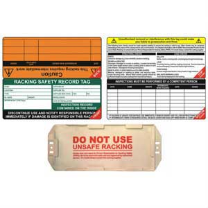 Racking Safety Tag Kits