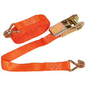 Ratchet Tie Down 1pc 25mm x 4.5mtr Polyester Webbing 900kg Load Test