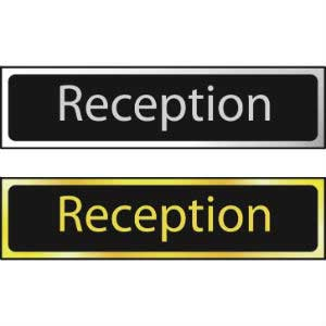 Reception Mini Sign