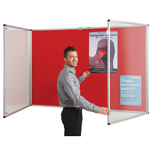 Resist-a-flame® Lockable Noticeboards