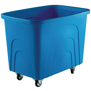 Robust Rim Container Trucks, 400 Litres in 4 Colours