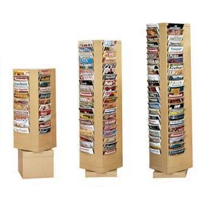 Steel Rotary Literature Racks