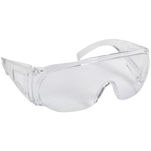 PPE Safety Over-Spectacles in Packs of 5 with Fast UK Delivery