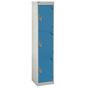 School Lockers with Germ Guard Paint