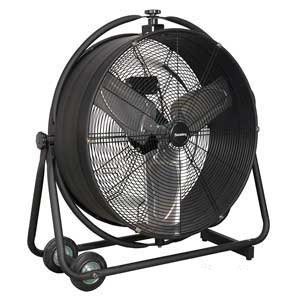 "Sealey 24"" Industrial High Velocity Orbital Drum Fan"