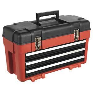 Sealey 3 Drawer Portable Toolbox