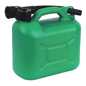 Sealey JC5G 5 Litre Plastic Fuel Can