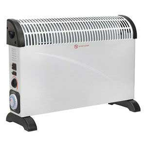 Sealey Convector Heater 2000W With Turbo Fan & Timer