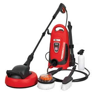 Sealey Pressure Washer With Accessory Kit