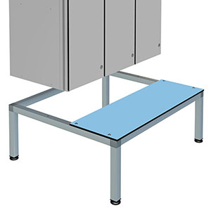 Seat and Stand for Probe Zenbox Aluminium Lockers