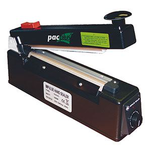 Single Bar Impulse Heat Sealer with Cutter
