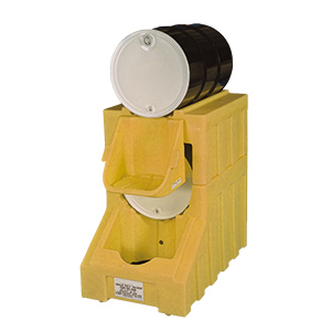 Single Poly-Racker Horizontal Drum Storage