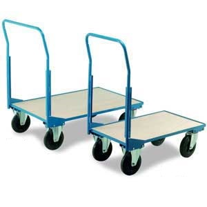Single Veneer Open End Trolleys