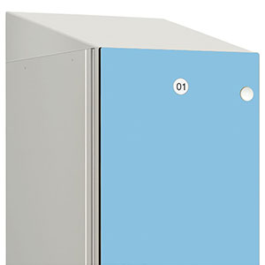 Sloping Top for Probe Zenbox Aluminium Lockers