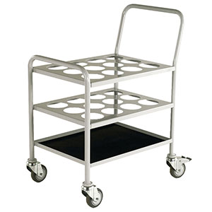 Small Oxygen Cylinder Trolley For 12 Size D E With Fast