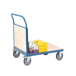 Snag-free Platform Trucks with Single Panel End