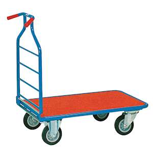Space-saving Platform Trolley 400kg capacity with FREE UK Delivery