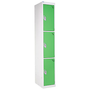 Spectrum Lockers 3 Compartment / 3 Door
