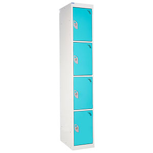Spectrum Lockers 4 Compartment / 4 Door