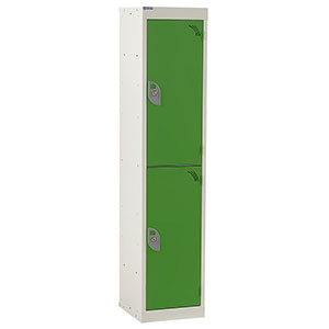 Metal Spectrum lockers designed for use in schools