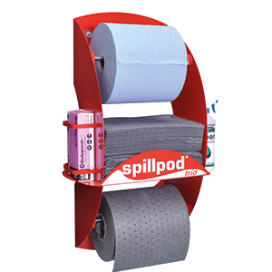 Spillpod Trio Dispenser Station