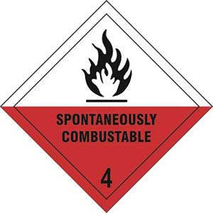 Spontaneously Combustible 4 Diamond Labels