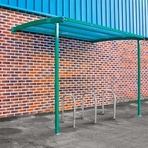 Starter Wall Mounted Cycle Shelter