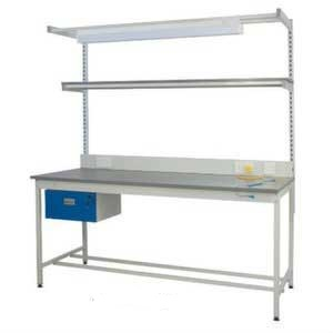 Static Dissipative Square Tube Workbenches
