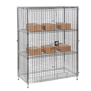Static & Mobile Eclipse Chrome Wire Security Cages with FREE UK Delivery