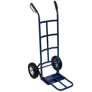 Steel Sack Truck with 1 Fixed and 1 Folding Foot Iron with FREE UK Delivery