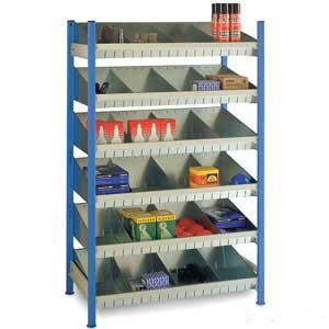 Steel tray Shelving Bay & Accessories