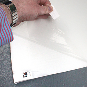 Sticky Step Plastic Mat