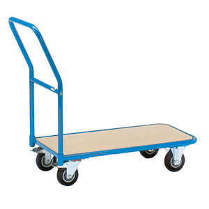 Storeroom Trolley with Timber Platform with FREE UK Delivery