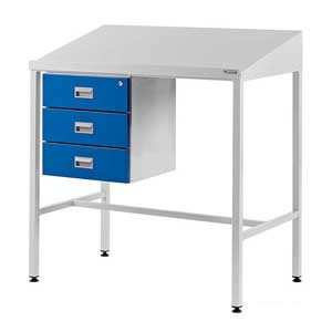 Team Leader Workstation With Triple Drawer